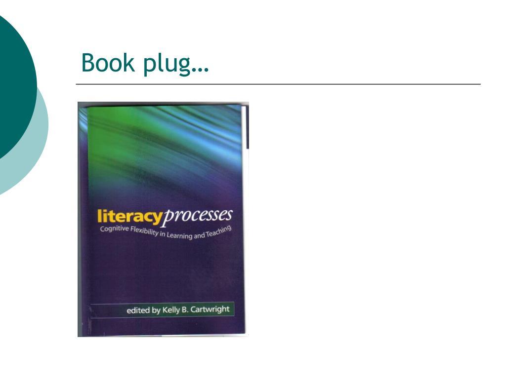 Book plug…