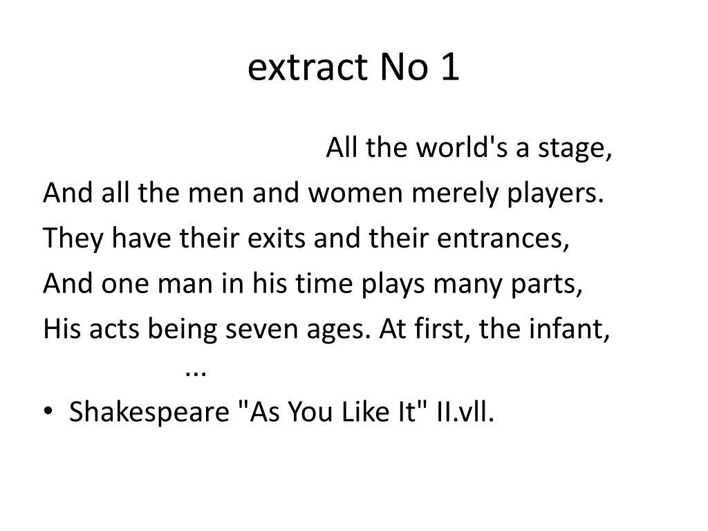 extract No 1