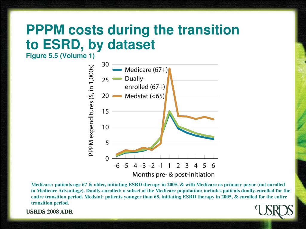 PPPM costs during the transition