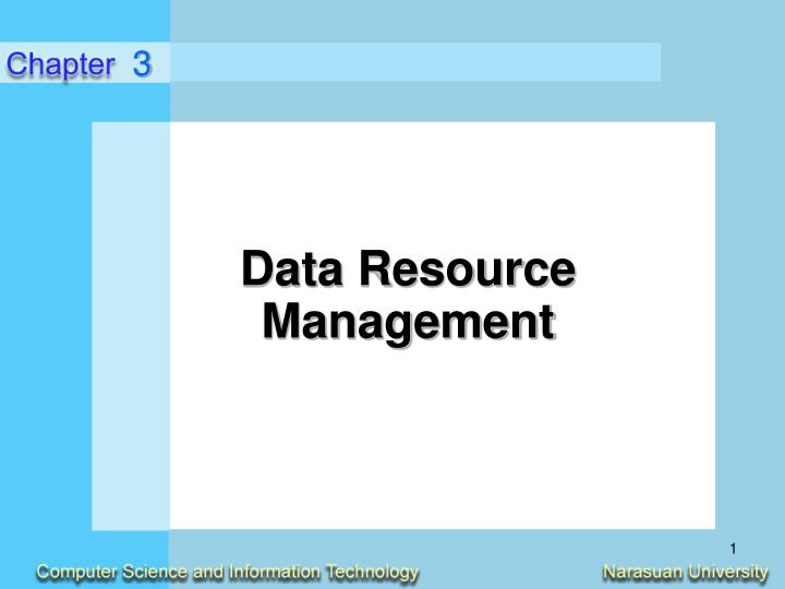 Data resource management l.jpg