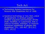 tech act
