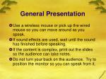 general presentation14