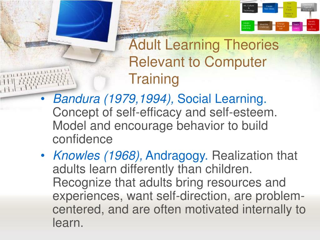 older adult learning theories