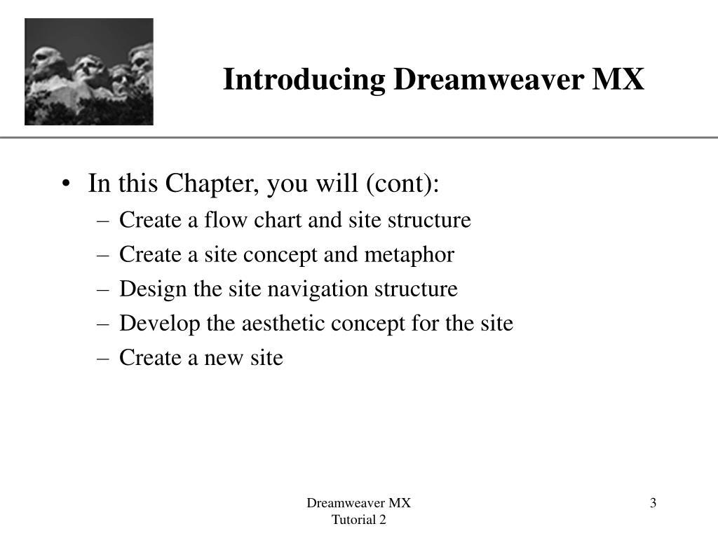 Introducing Dreamweaver MX