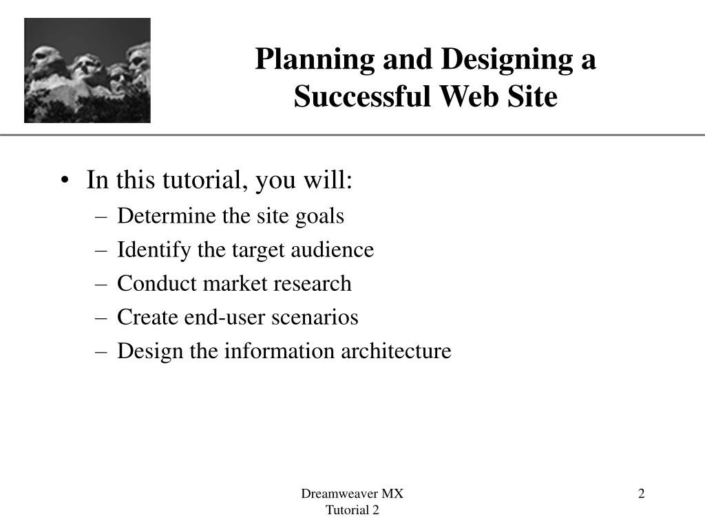 Planning and Designing a
