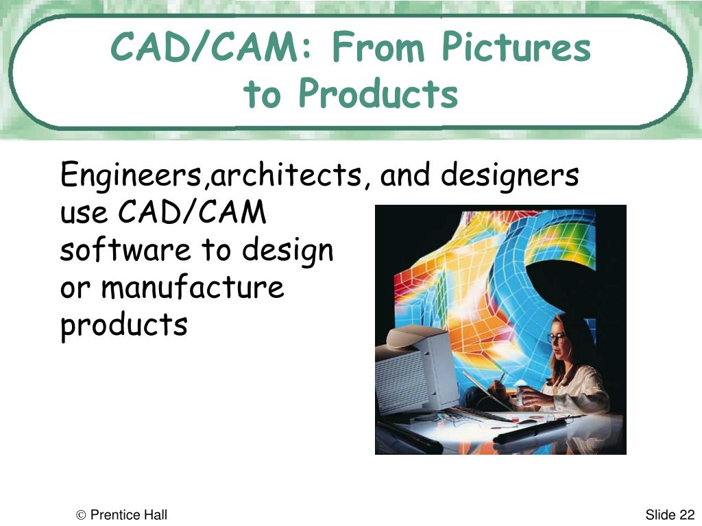 CAD/CAM: From Pictures