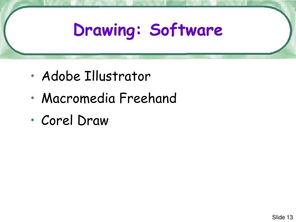 Drawing: Software