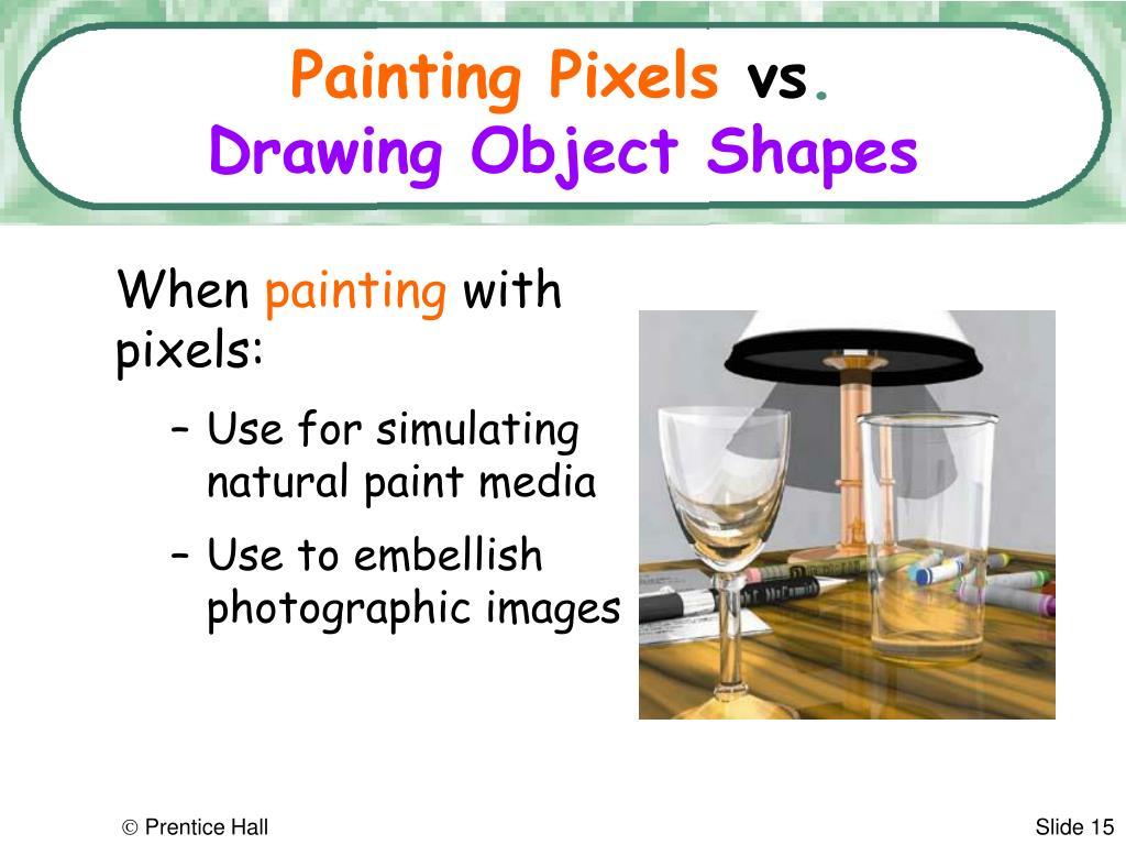 Painting Pixels