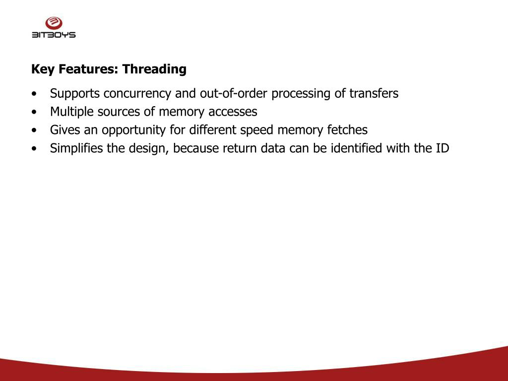 Key Features: Threading