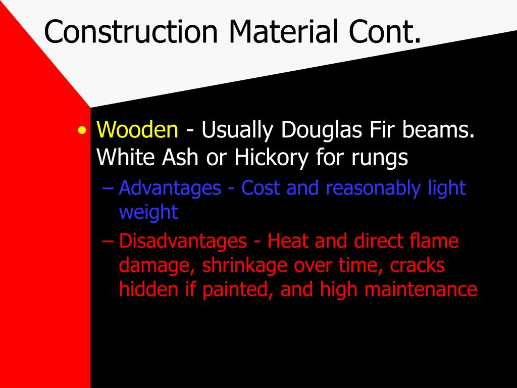 Construction Material Cont.