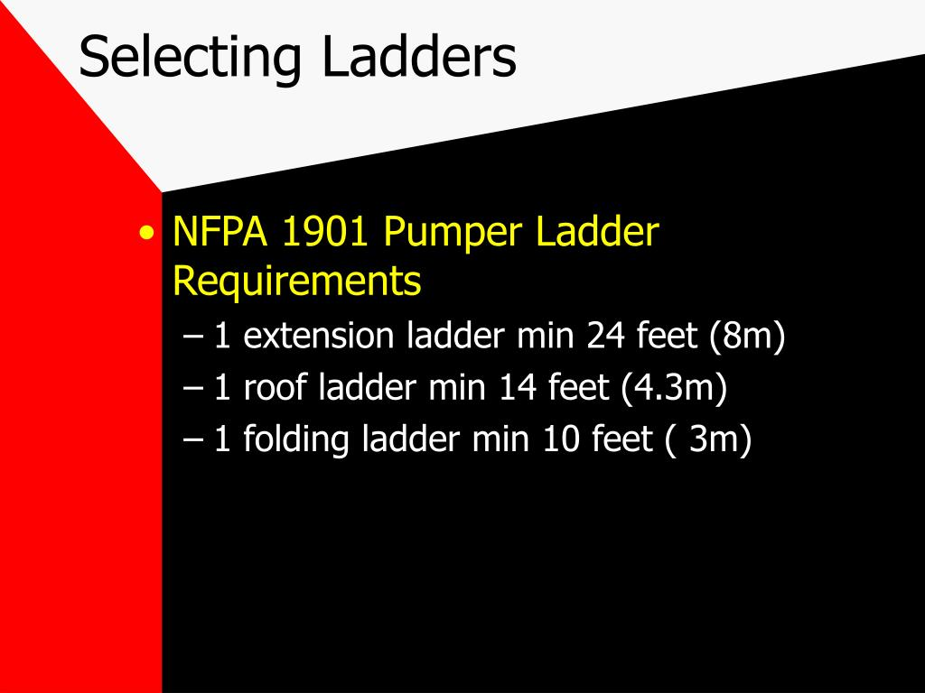Selecting Ladders