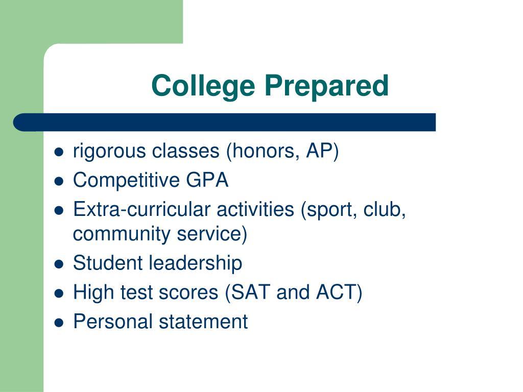 College Prepared