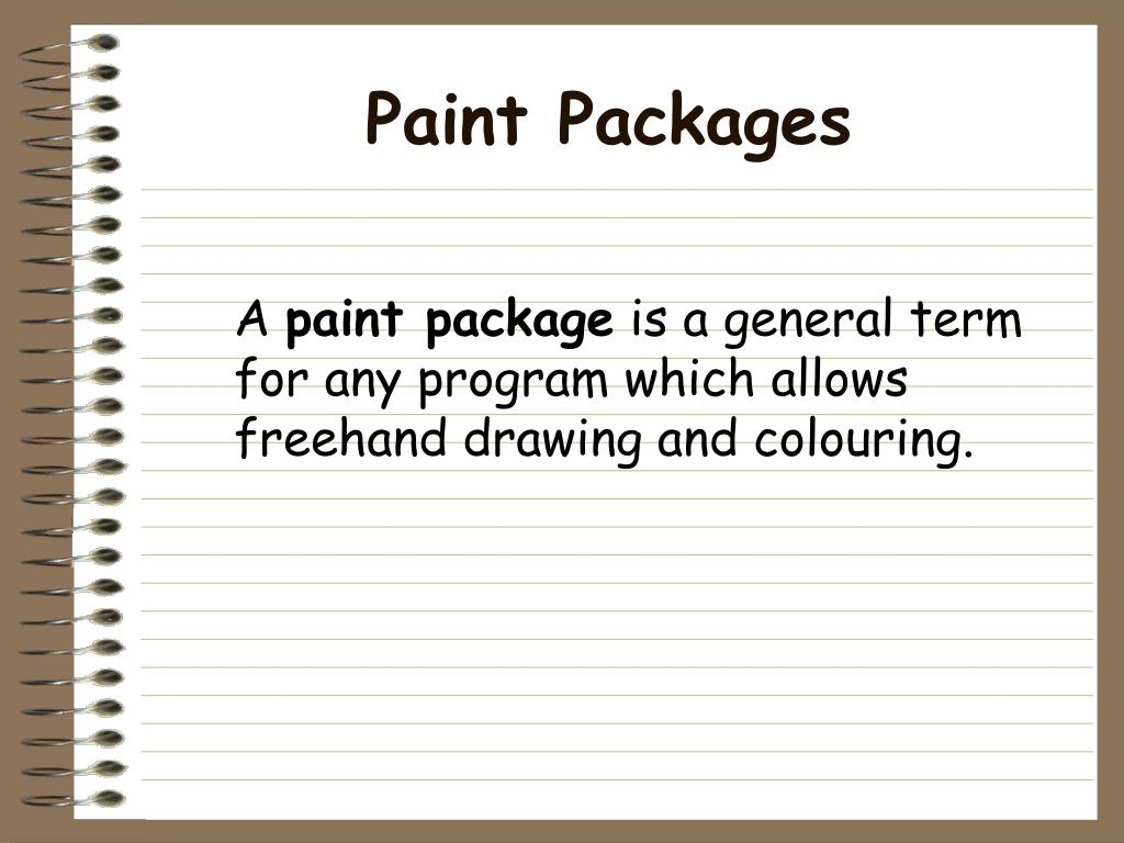 Paint Packages
