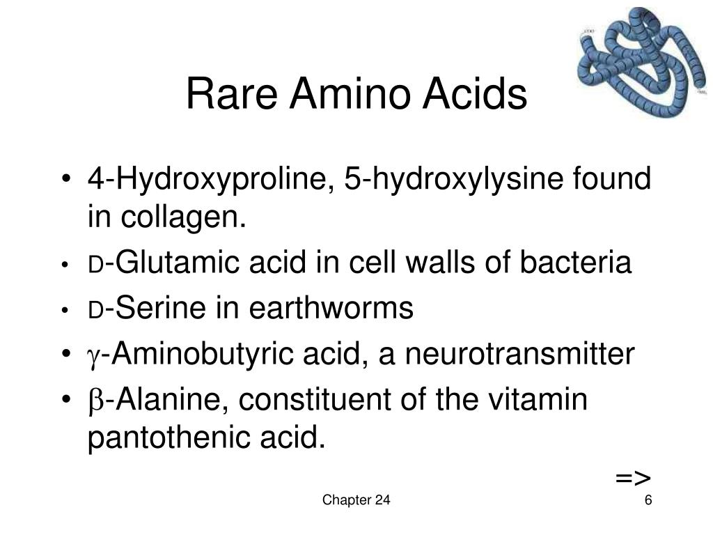 Rare Amino Acids