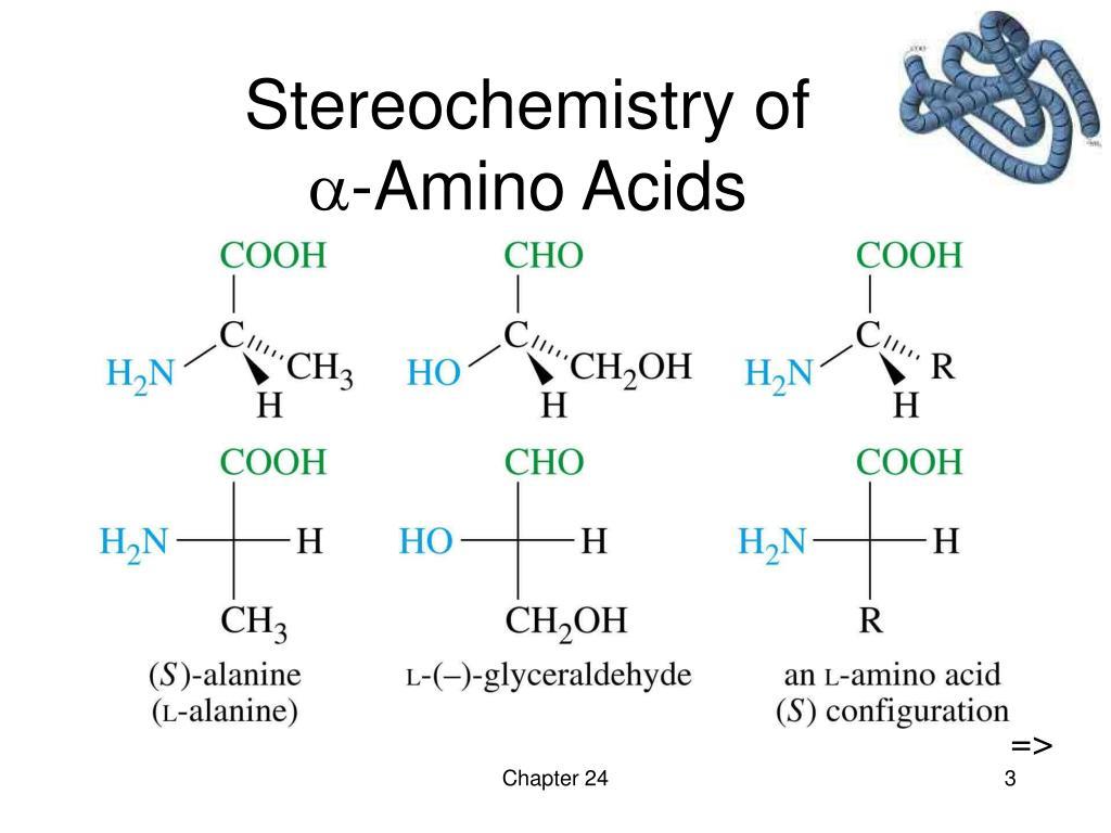 Stereochemistry of