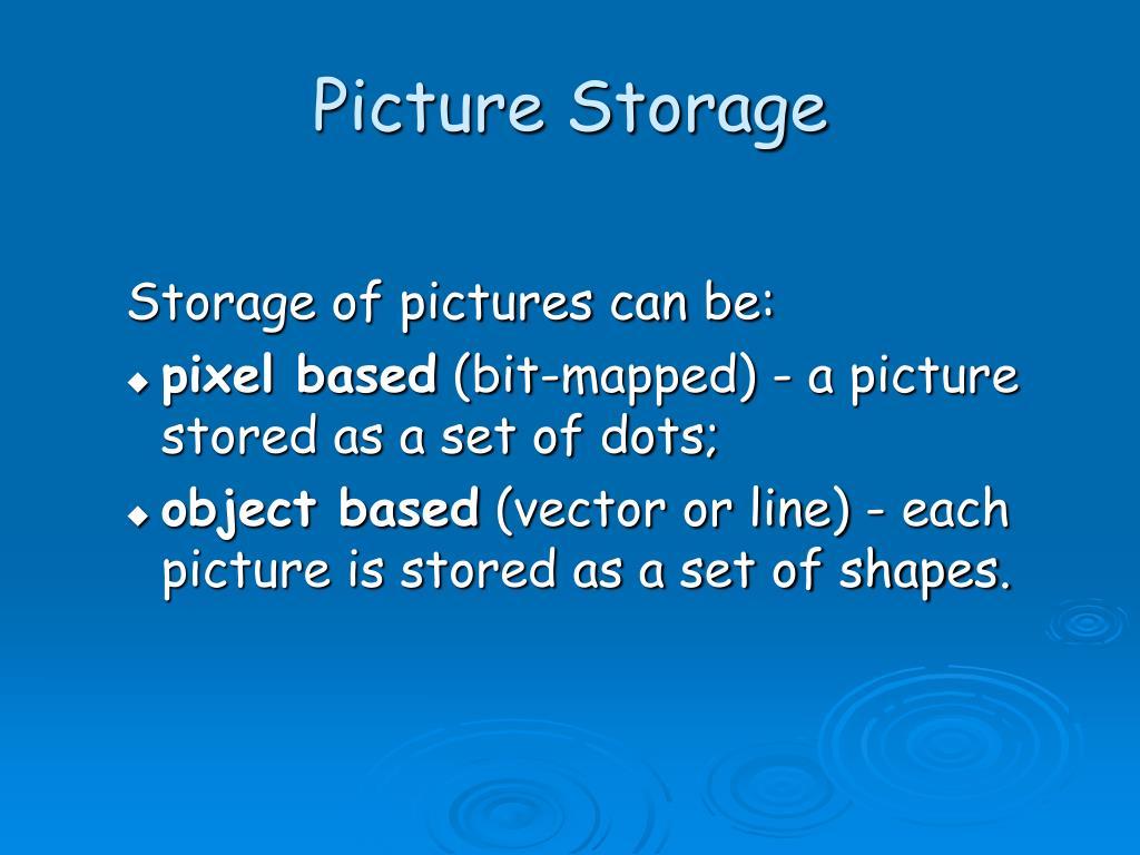 Picture Storage