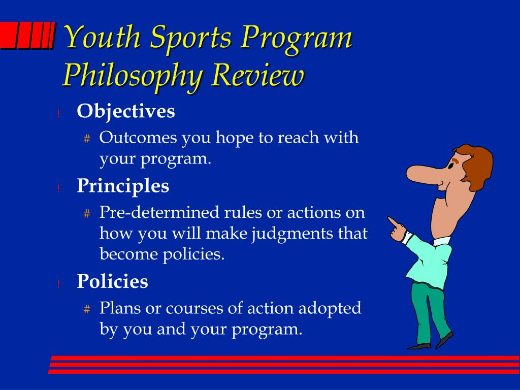youth sports philosophy essay