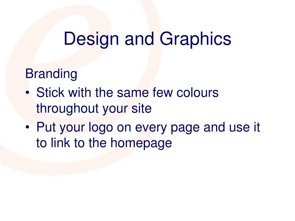 Design and Graphics