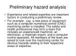 preliminary hazard analysis5