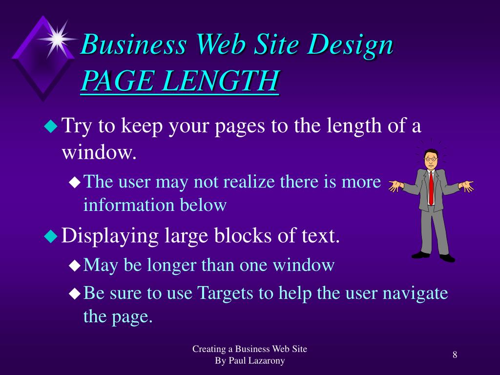 Business Web Site Design