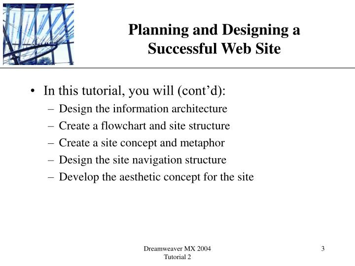 Planning and designing a successful web site3