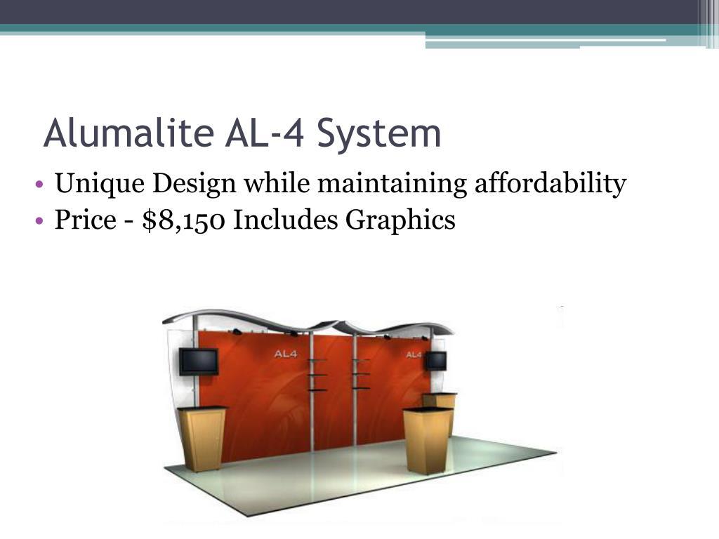 Alumalite AL-4 System