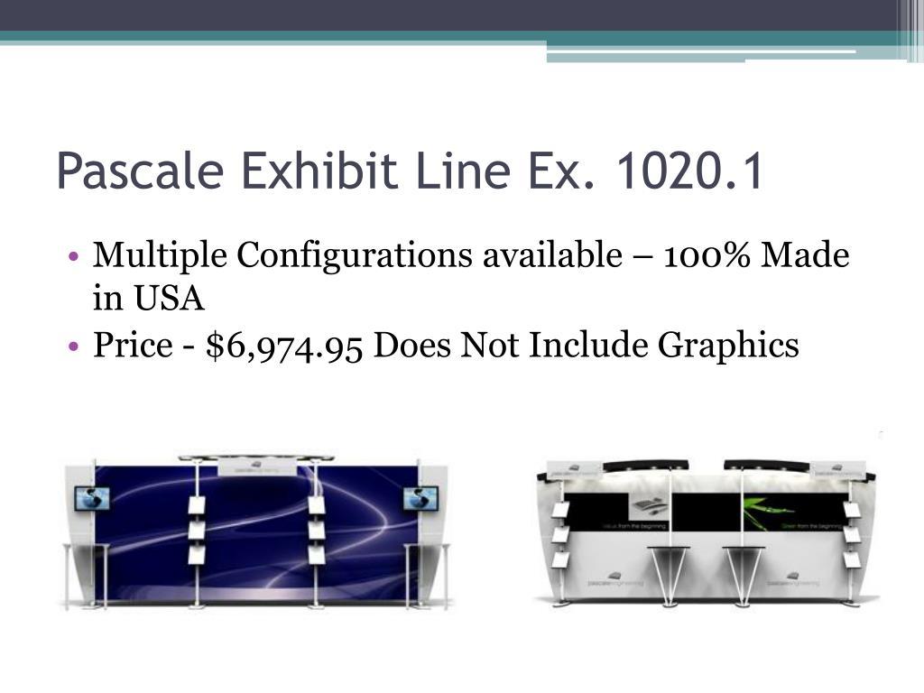 Pascale Exhibit Line Ex. 1020.1