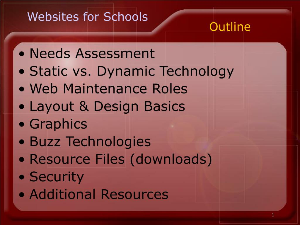 Websites for Schools