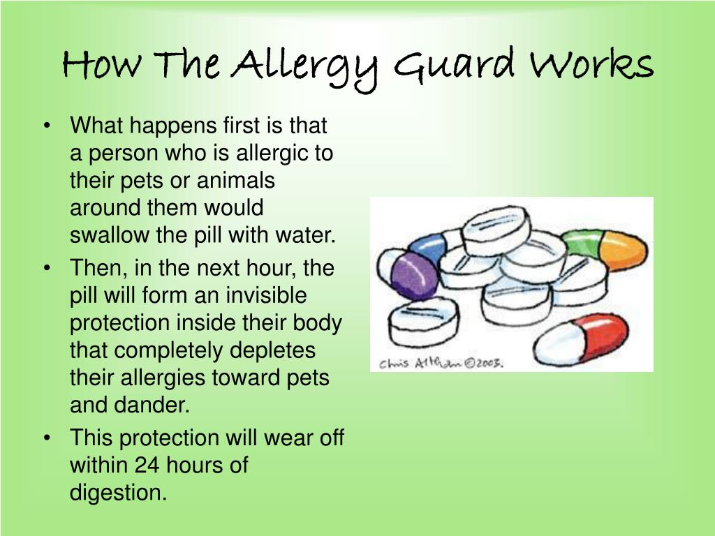 How The Allergy Guard Works