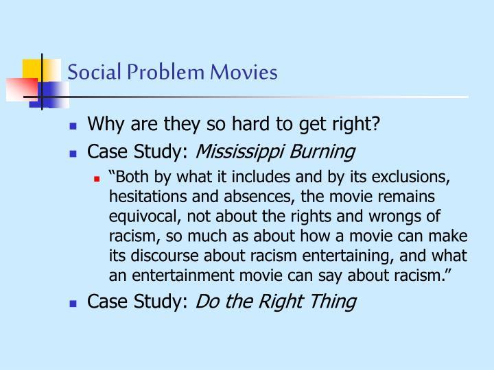 Social Problem Movies