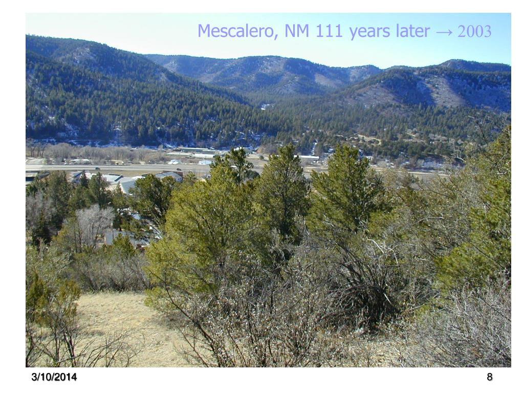 Mescalero, NM 111 years later