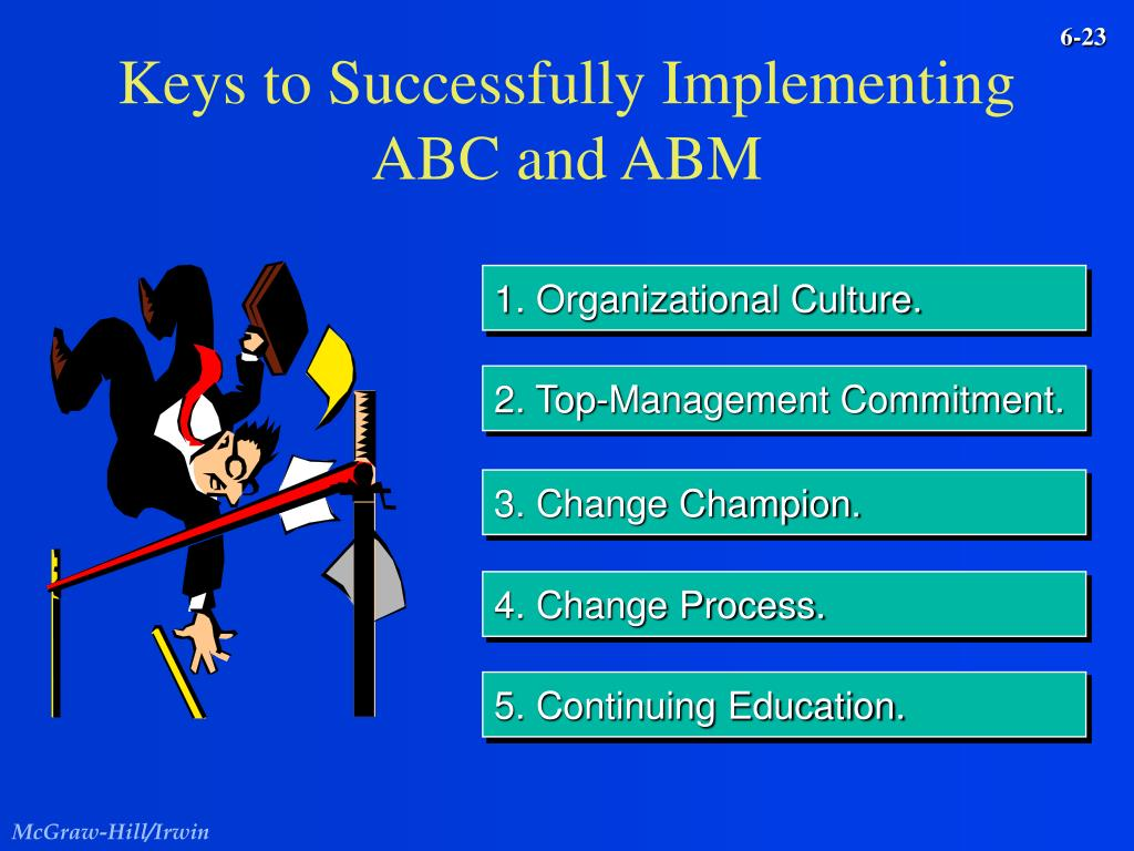 Keys to Successfully Implementing ABC and ABM
