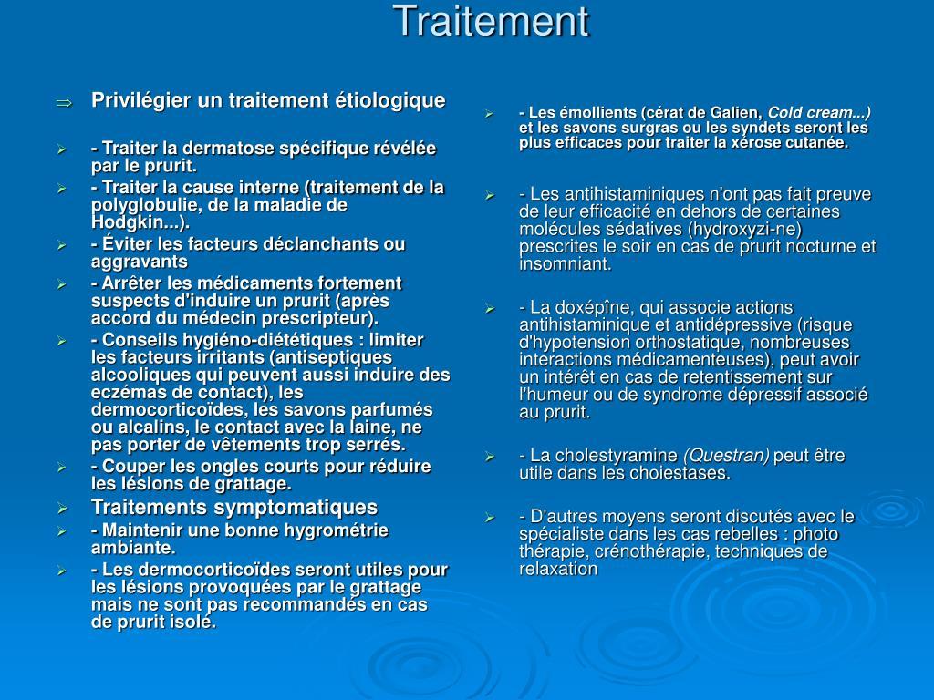 dermatose prurigineuse