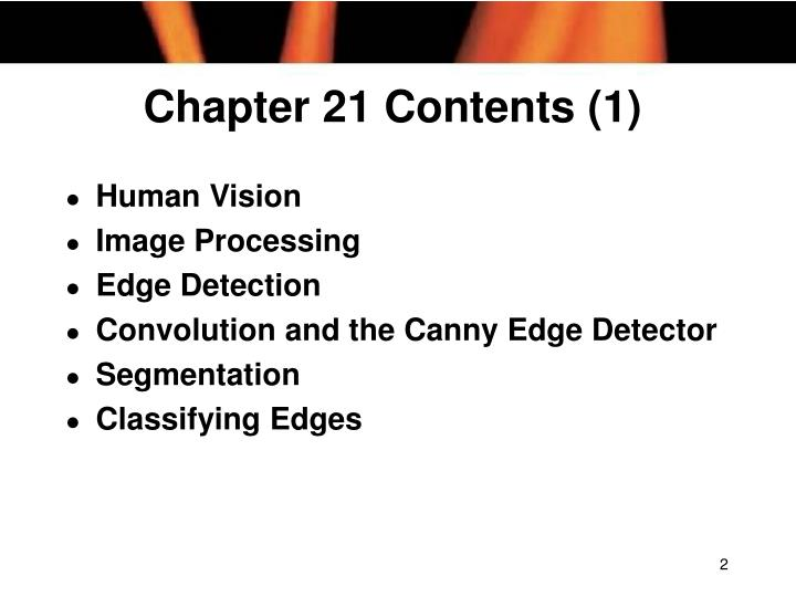 Chapter 21 contents 1