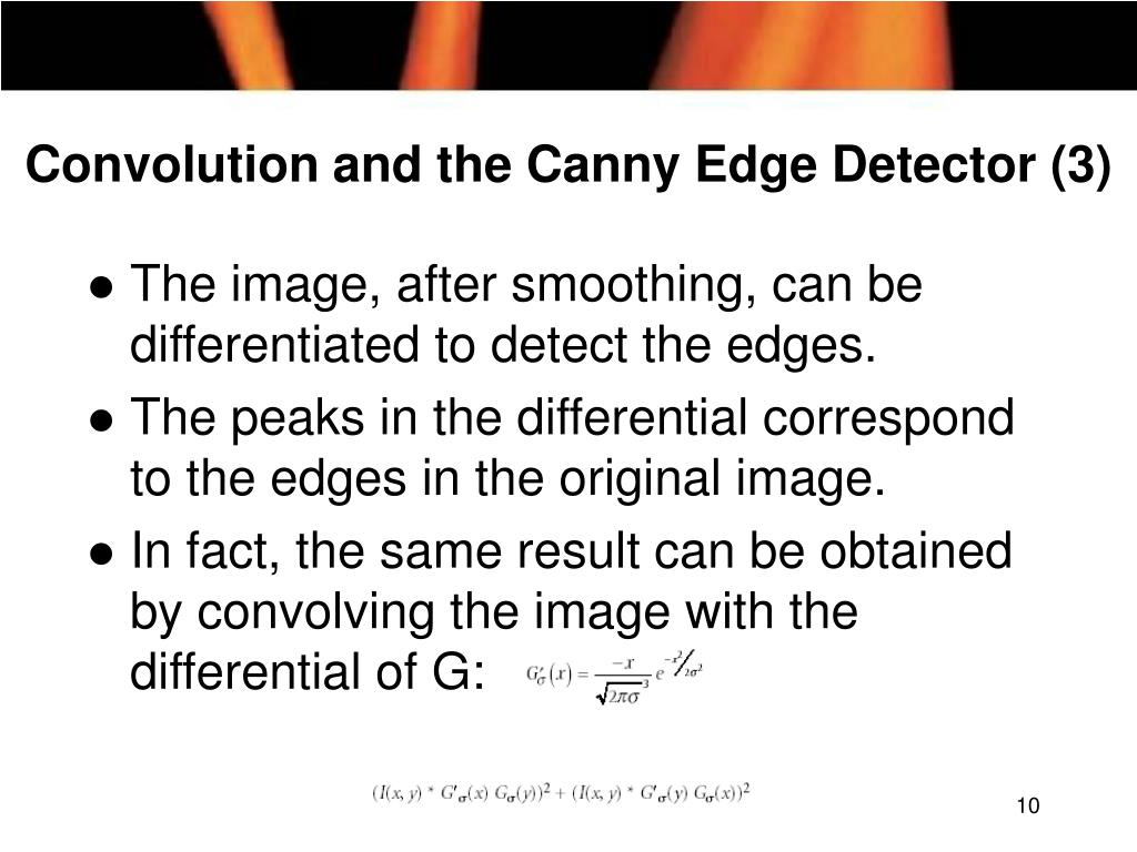 Convolution and the Canny Edge Detector (3)