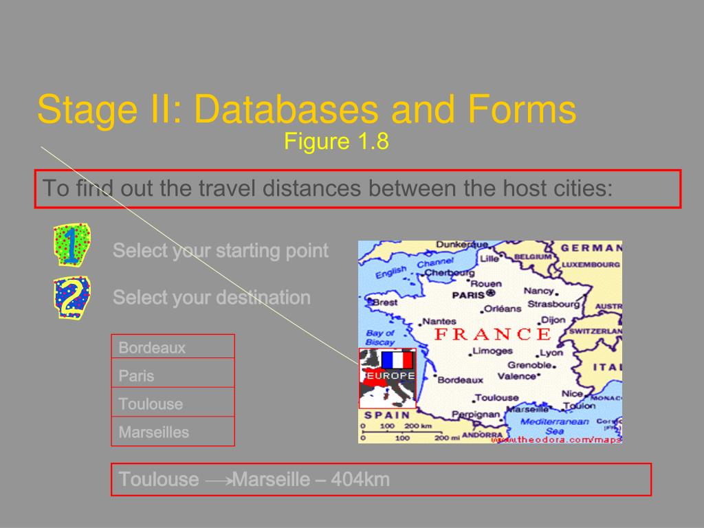 Stage II: Databases and Forms