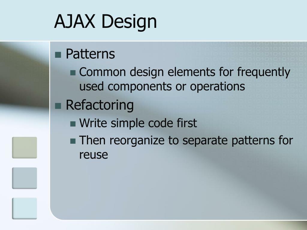AJAX Design