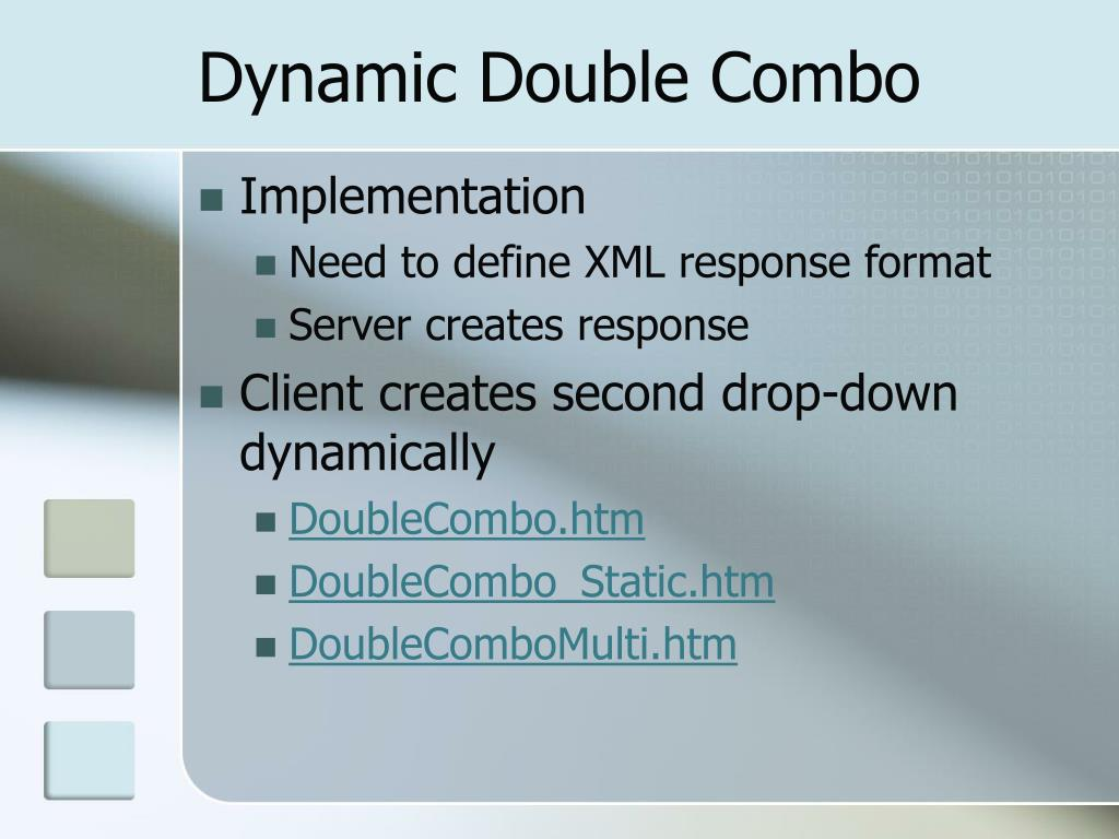 Dynamic Double Combo