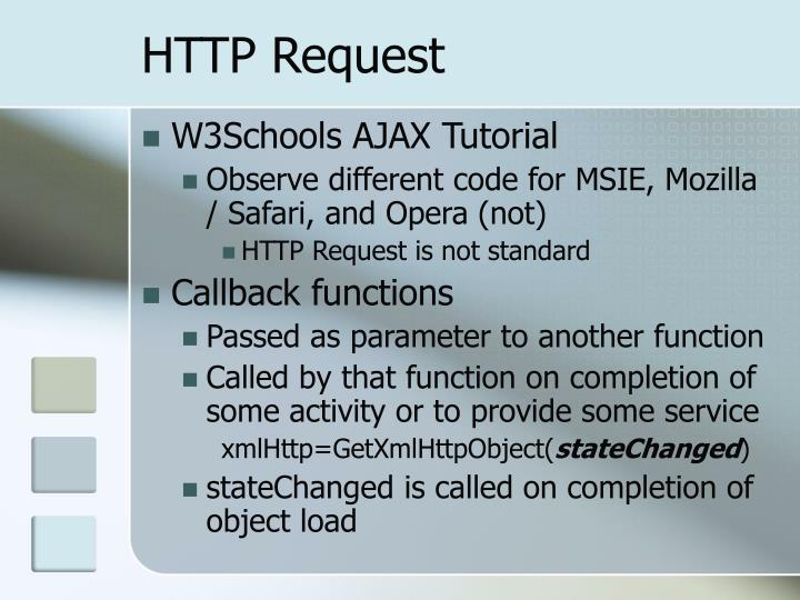 Http request