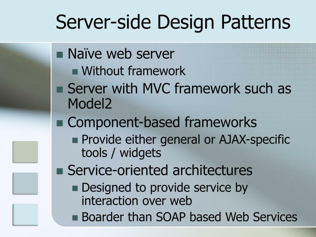 Server-side Design Patterns