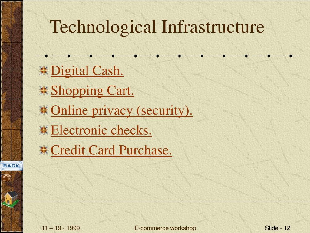 Technological Infrastructure
