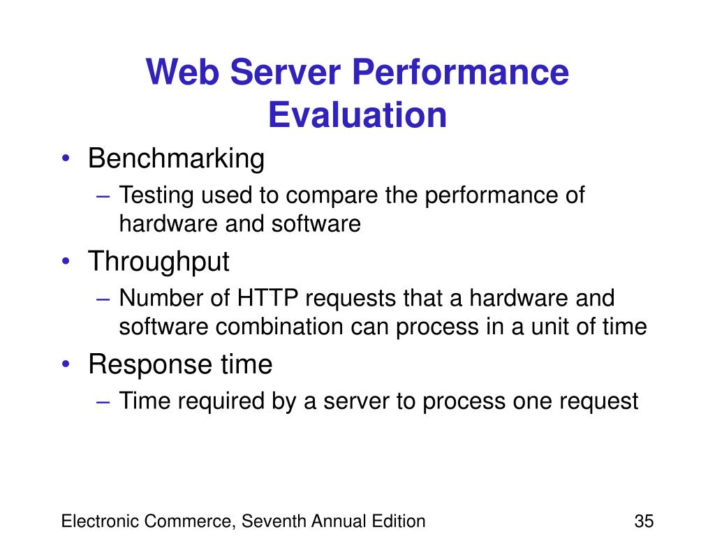 Web Server Performance Evaluation