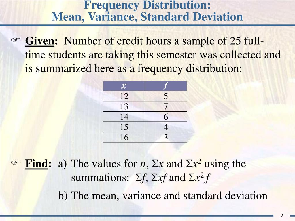 How To Calculate Standard Deviation Binomial Distribution Frequency  Distribution:mean