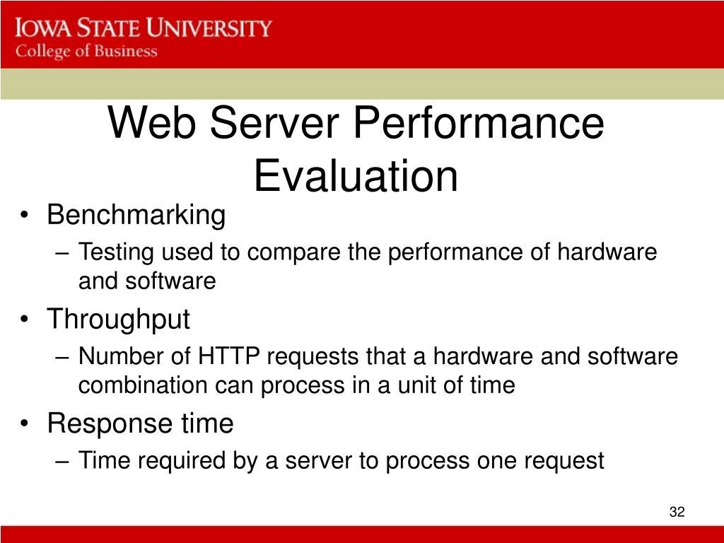 Web Server Performance Evaluation