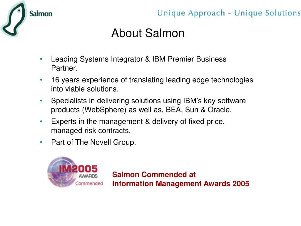 About Salmon