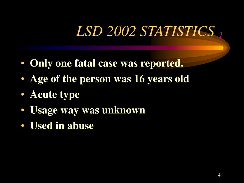 LSD 2002 STATISTICS