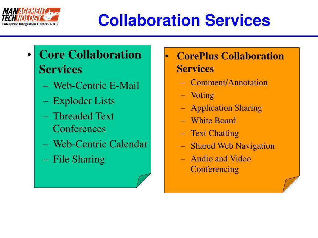 Core Collaboration Services
