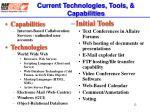 current technologies tools capabilities