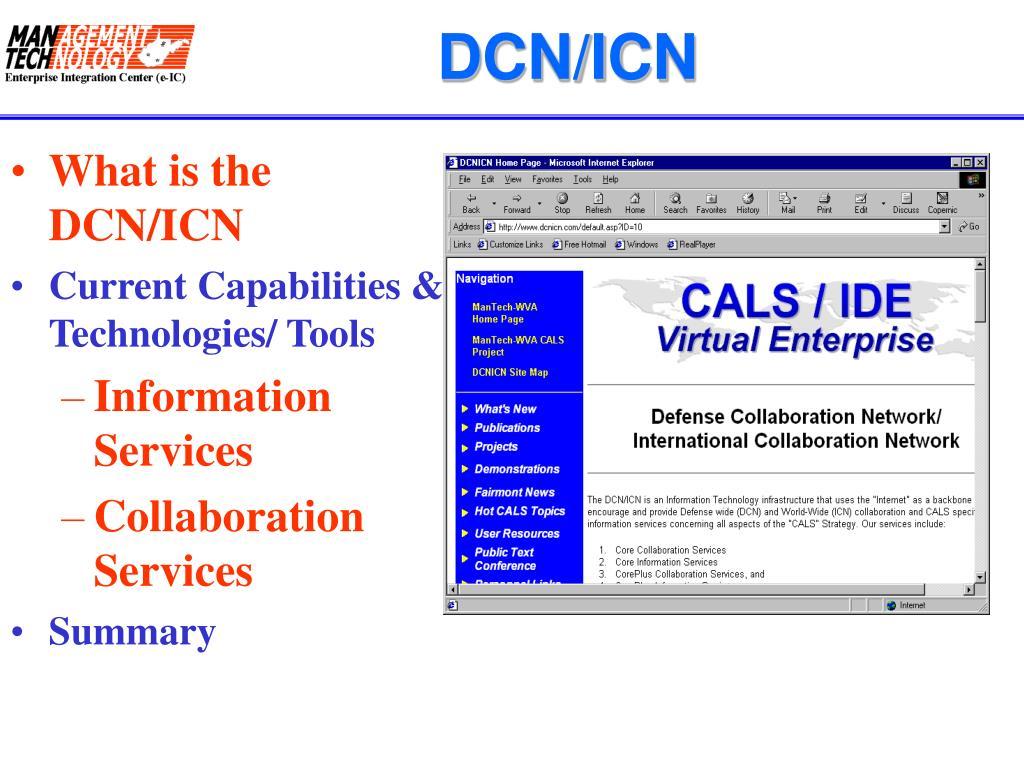 DCN/ICN