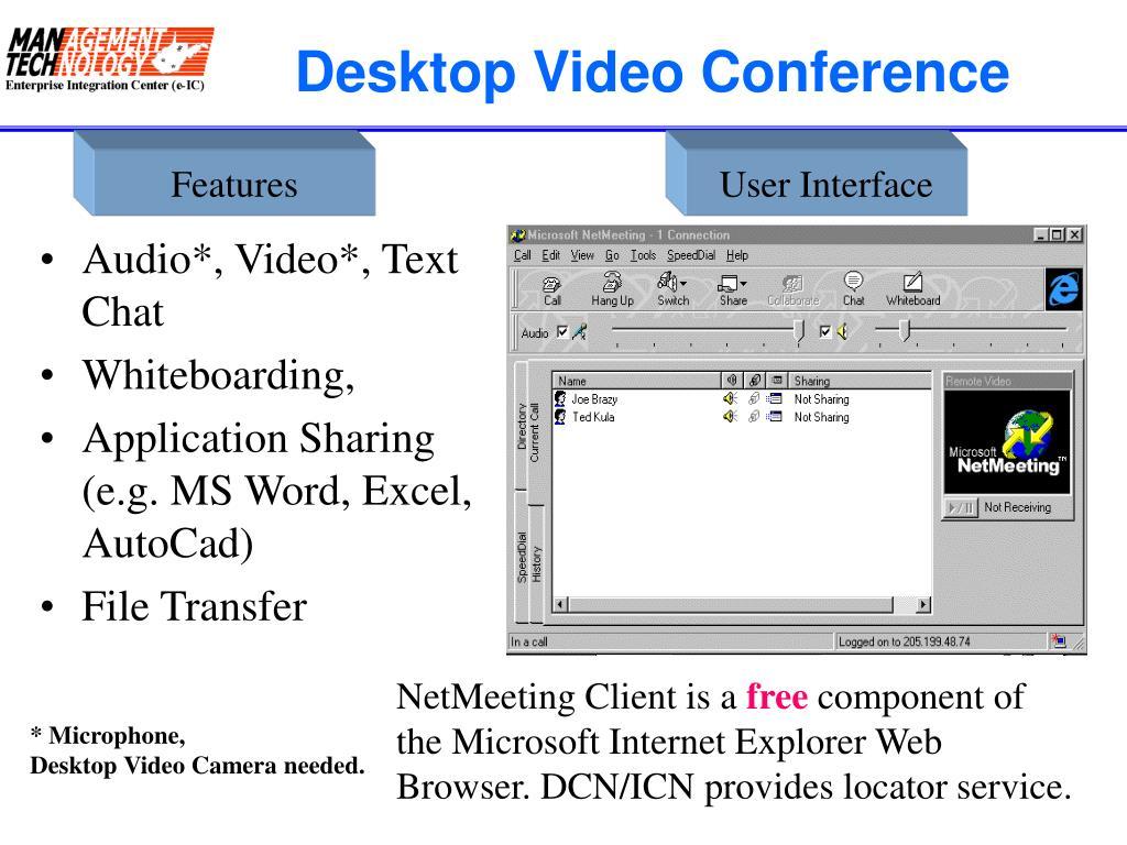 Desktop Video Conference